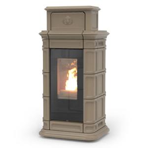 Prodotto 2403 termostufa a pellet montreux idra 13 kw - Termostufa a legna thermorossi ...